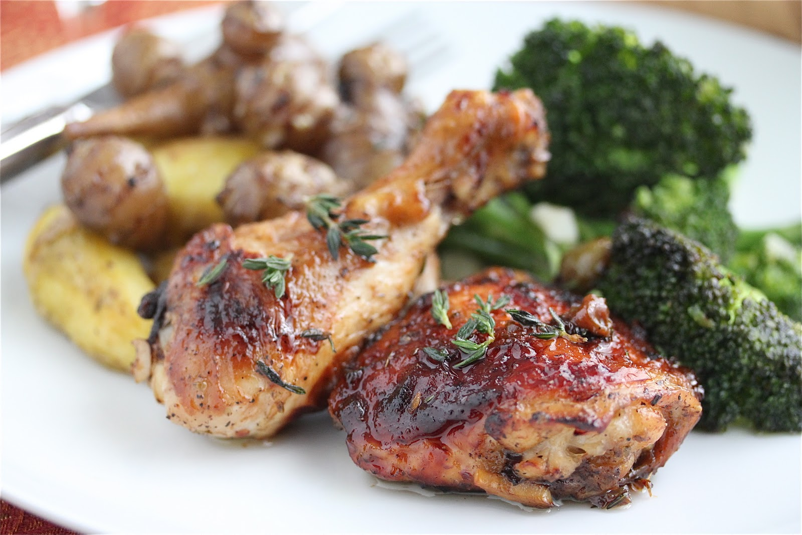 Easy Caramelized Baked Chicken with Green Olives and Prunes Recipe ...