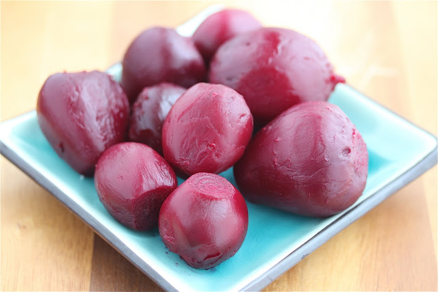 ... Beets, Beet Greens and Pine Nuts Recipe {How To Roast Beets