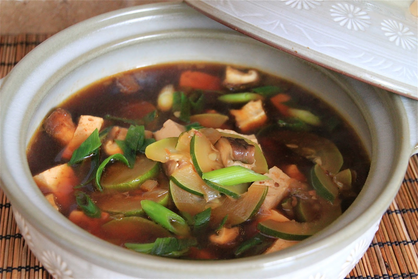 Doenjang Chigae, Korean Bean Paste Stew