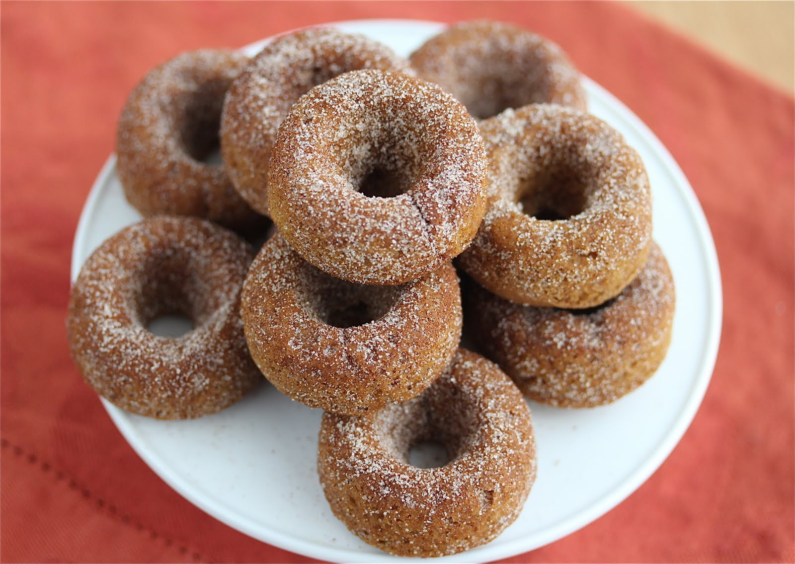 Gluten-Free Baked Pumpkin Spice Donuts {Vegan} - Jeanette's Healthy ...