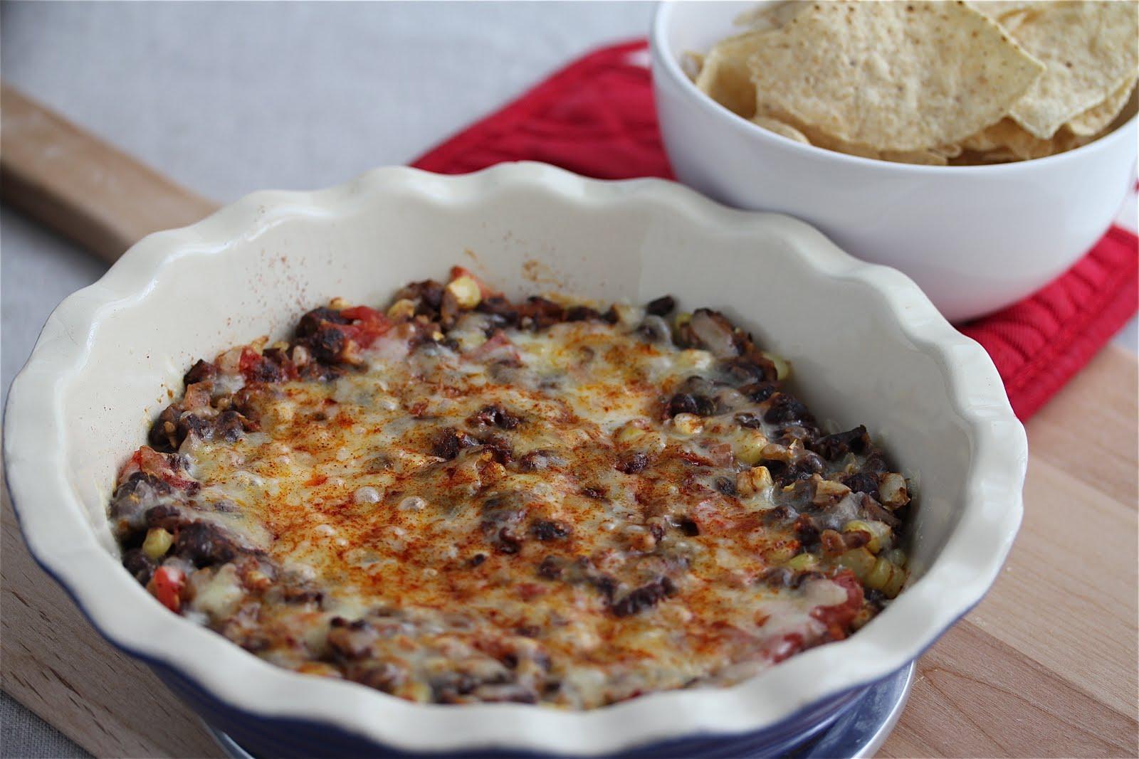 Easy Hot Black Bean Salsa Dip Recipe - Jeanette's Healthy Living