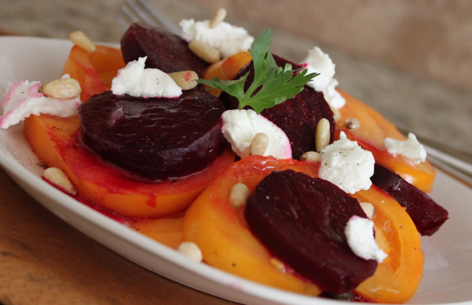 Roasted Beet and Heirloom Tomato Salad Recipe {How To Roast Beets ...