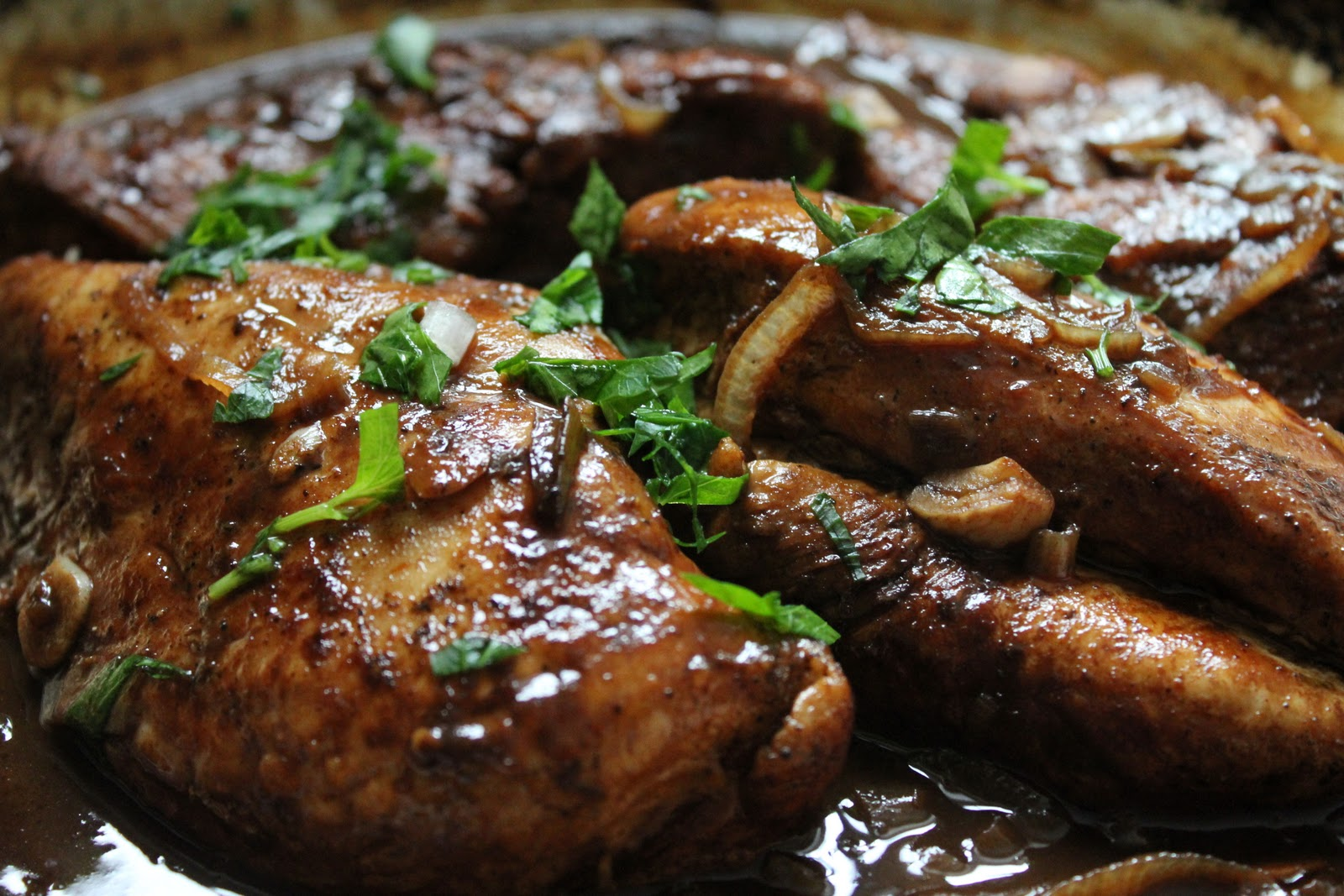 ... braised balsamic chicken and seasoned chicken breasts balsamic braised