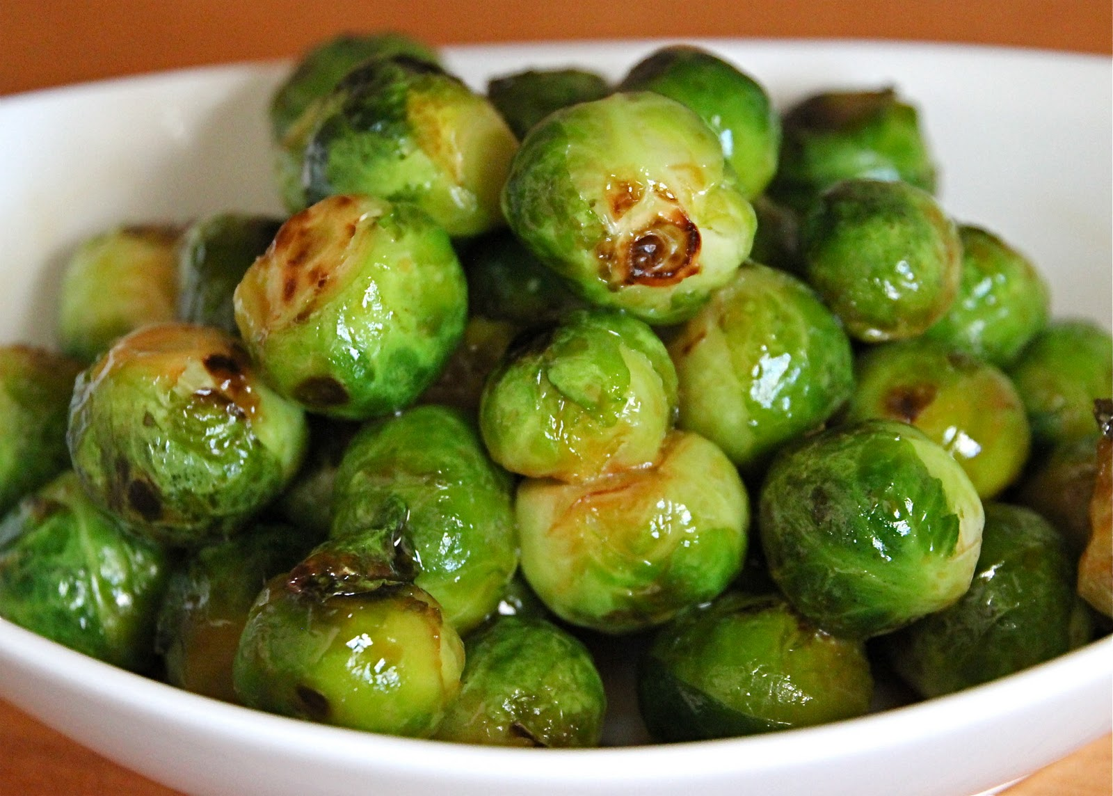 Glazed Brussels Sprouts