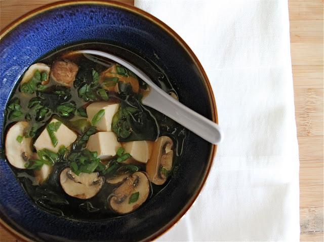 Miso Mushroom Soup