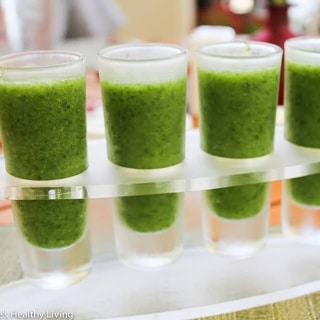 Beginner Green Smoothie Shots