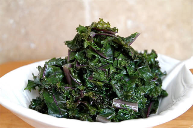 Sauteed Kale ~ https://jeanetteshealthyliving.com