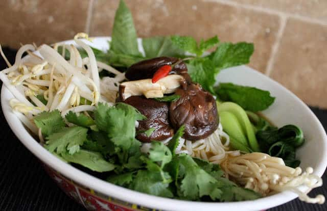 Vietnamese Vegetarian Pho ~ https://jeanetteshealthyliving.com
