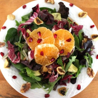 Festive Clementine Avocado Salad Recipe
