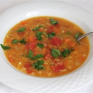 Easy Lentil Vegetable Soup Recipe