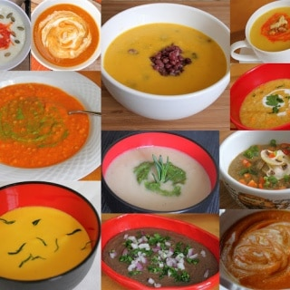 Pureed Soups ~ https://jeanetteshealthyliving.com