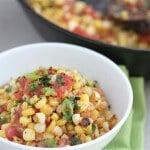 Warm Roasted Corn Salsa