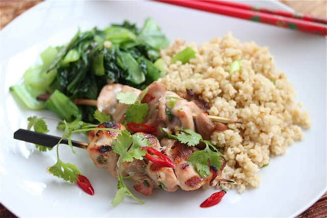 Thai Chicken Skewers – 50 Women Game Changers In Food – Dorothy Hamilton
