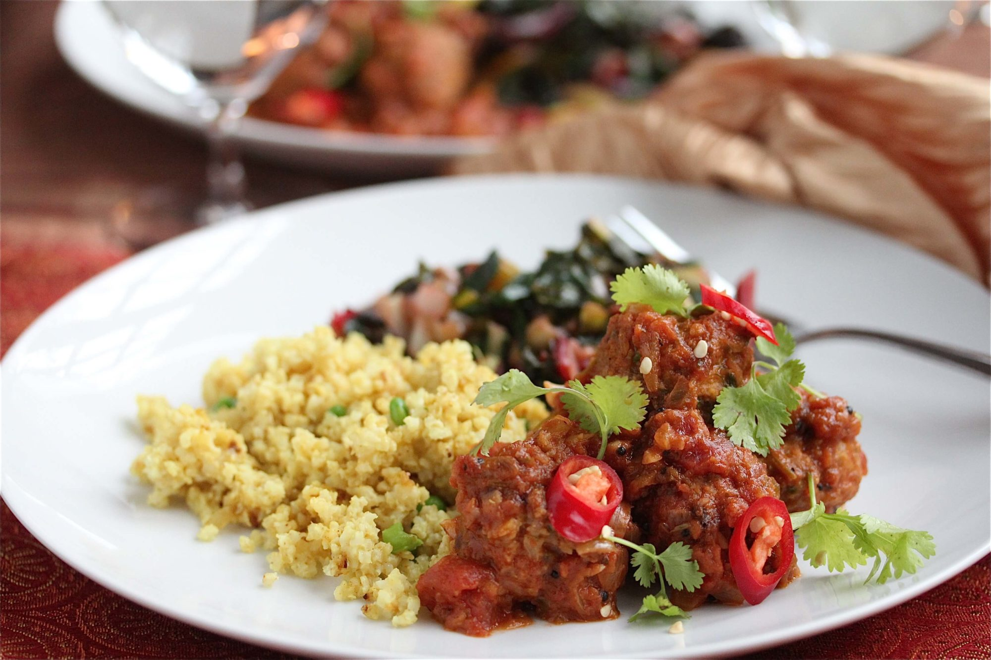 Tikka Masala Meatballs Recipe