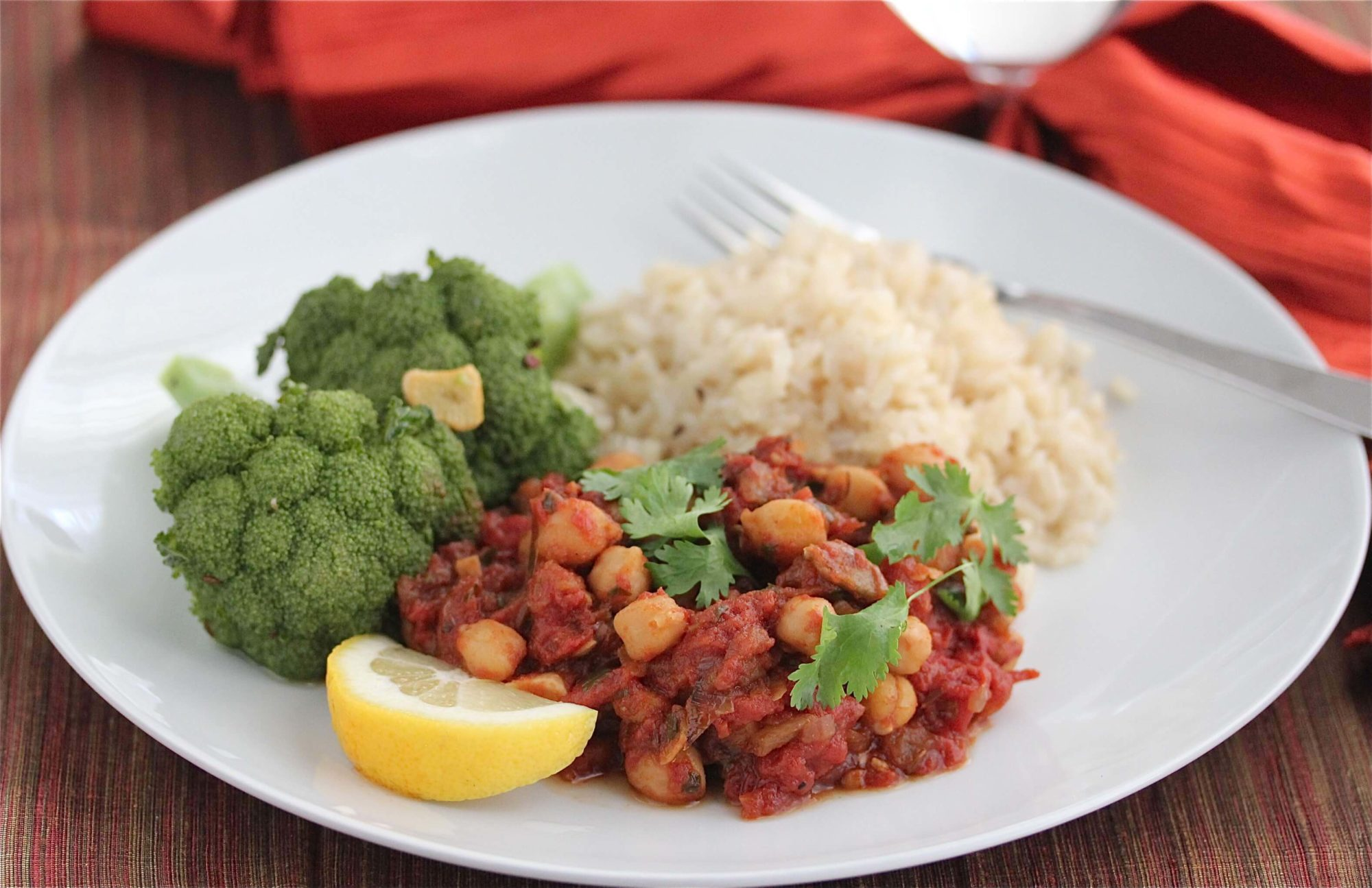 Vegetarian Chana Masala Recipe
