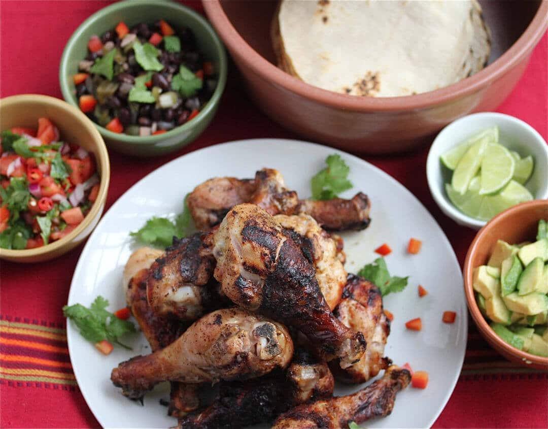 Pollo Asado Chicken Taco Recipe