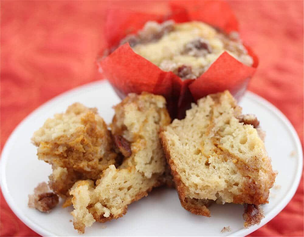 Gluten-Free Pumpkin Coffee Cake Muffins