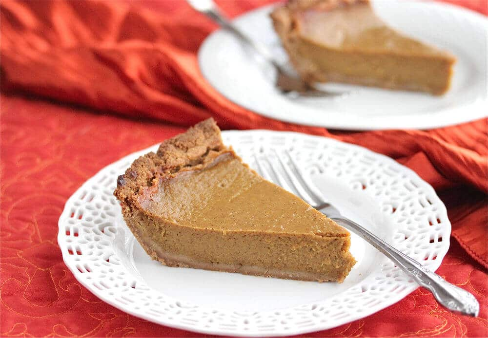 Gluten-Free, Dairy-Free Spiced Pumpkin Pie Recipe