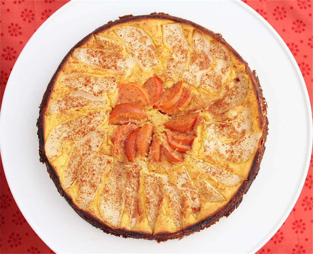 Orange Pear and Persimmon Cake Recipe