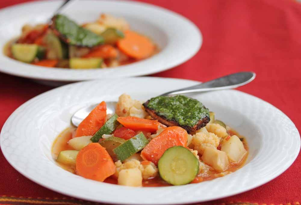 Minestrina Soup with an Accent
