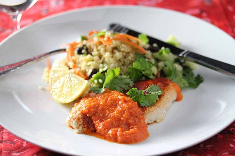 Chicken with Romesco Sauce Recipe – The Whole Food Revelation