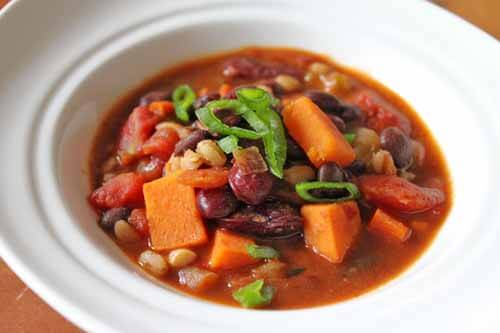 Vegetarian Fiery Red Bean Chili