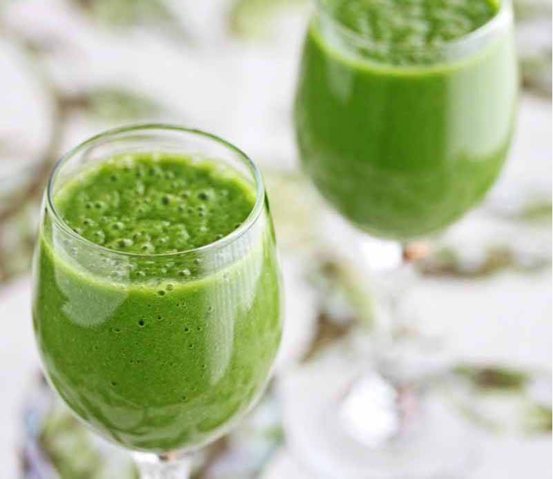A Beginner Green Tea Green Smoothie Recipe