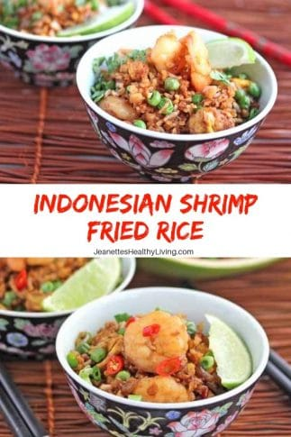 Indonesian Shrimp Fried Rice