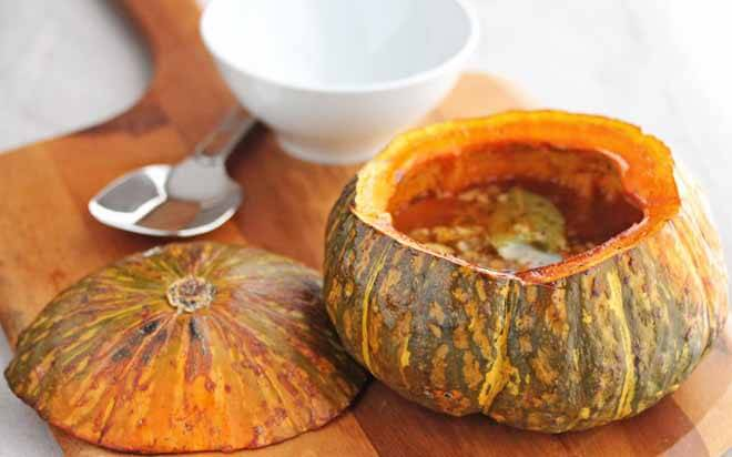 Winter Squash Soup with Pimenton and Preserved Lemon