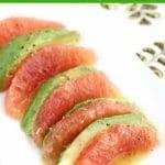 Avocado Grapefruit Salad w/ Dijon Mustard Vinaigrette