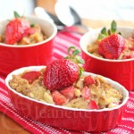 Strawberry Banana French Toast Casserole © Jeanette's Healthy Living