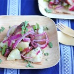 Greek Potato Salad (Egg-Free)