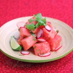 Indian Watermelon Lime Salad
