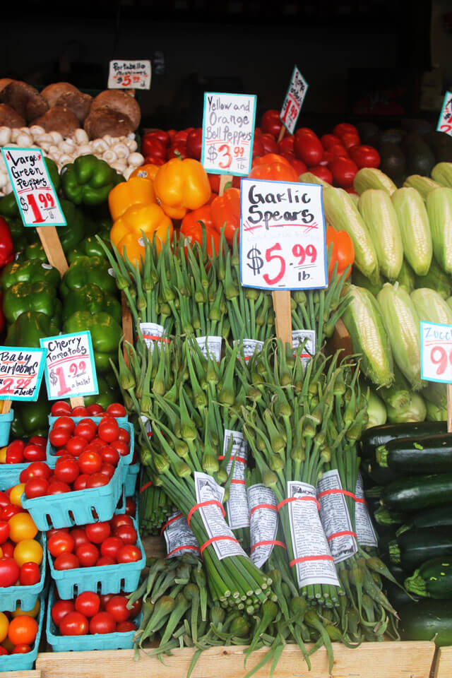 Fresh Produce at Pike Place Market