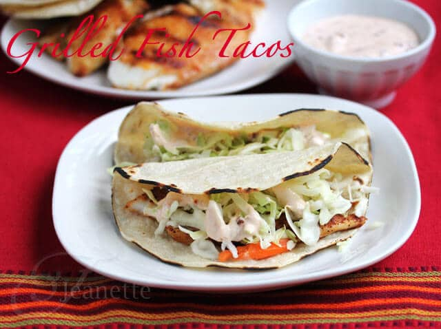 Fish Tacos with Coleslaw and Chipotle Sauce - family-friendly, healthy, delicious meal that kids and adults will both enjoy