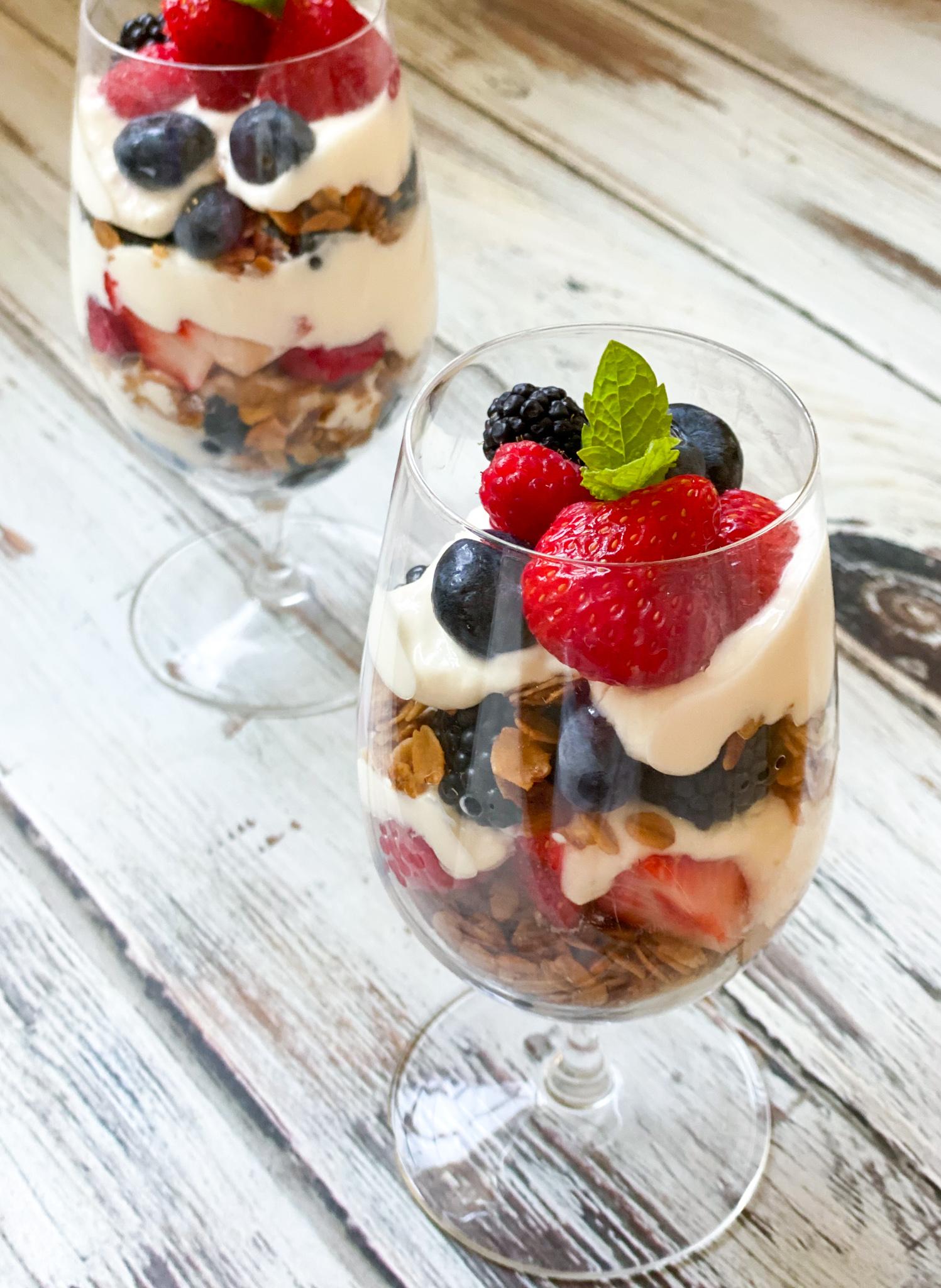 Berry Yogurt Parfait