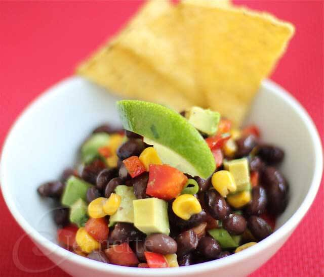Kids Cooking Channel Video – Roasted Corn, Black Bean and Avocado Salsa Recipe