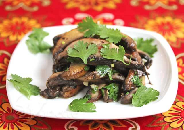 Marinated Portobello Mushroom Salad Recipe