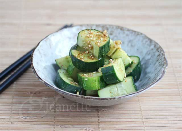 Easy Cold Soy Sesame Cucumber Salad Recipe
