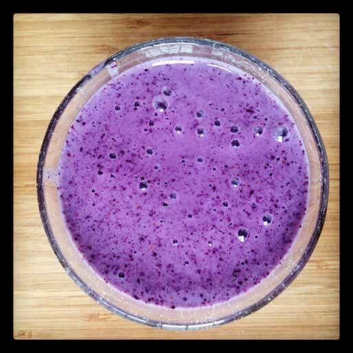 Blueberry Banana Yogurt Smoothie