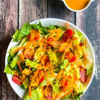 Japanese Carrot Ginger Dressing