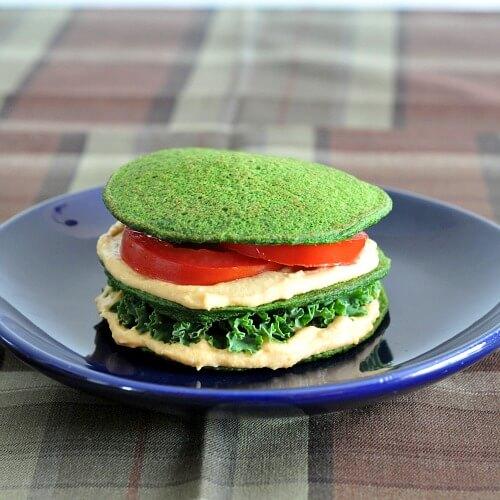 Spinach Pancakes by Spabettie
