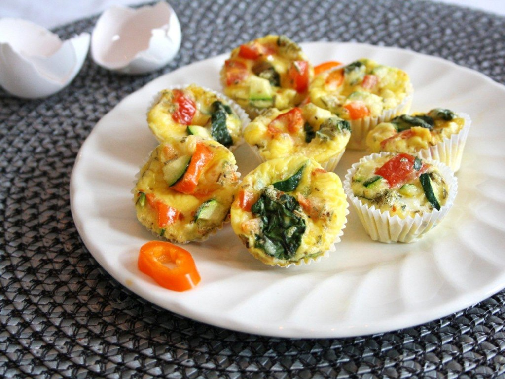 Baked Eggs & Veggies To Go from Inspired Edibles