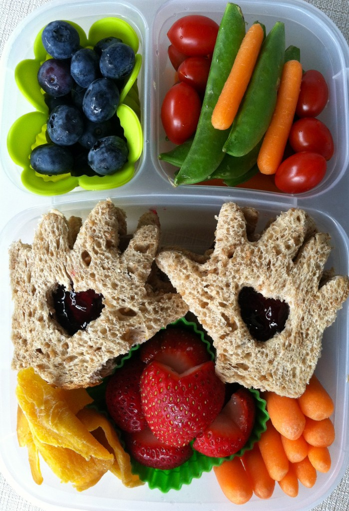 Healthy Hearts Hands Lunch Box from Bentoriffic