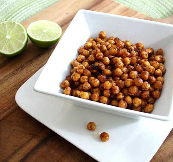 Crispy Chili Lime Chickpeas from Inspired Edibles