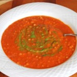 Cream of Tomato Pasta Soup