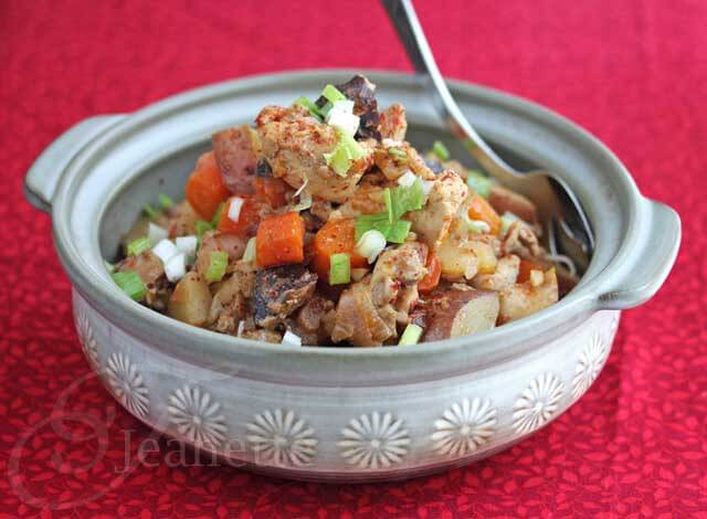 Crock Pot Asian Chicken Stew