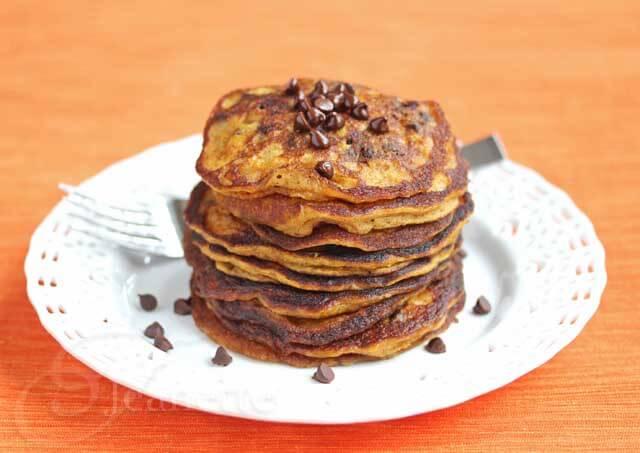 Gluten Free Pumpkin Spice Pancakes