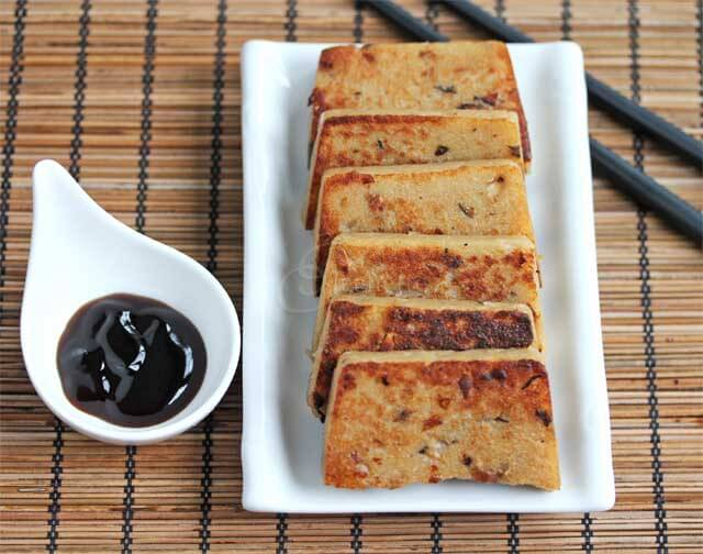 Pan Fried Chinese Turnip Cake