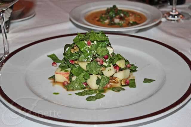 Bar Americain Chopped Apple Salad
